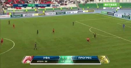FK UFA - FC Progres Niederkorn