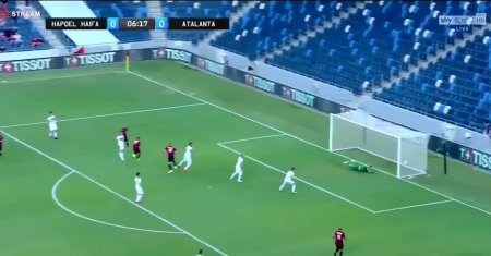 Hapoel Haifa FC - Atalanta Bergamo