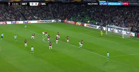 Betis S. - AC Milan