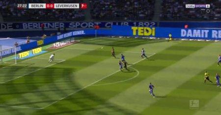 Hertha Berlin - Bayer Leverkusen